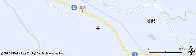 山形県上山市高野上河原80周辺の地図