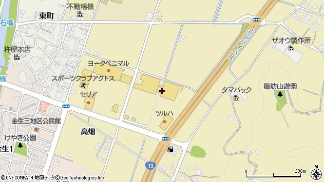 山形県上山市仙石梅ノ木770周辺の地図