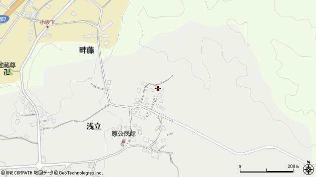 山形県西置賜郡白鷹町浅立3038周辺の地図