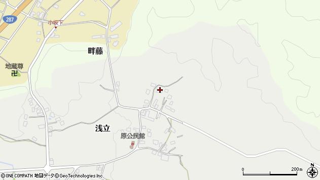 山形県西置賜郡白鷹町浅立3051周辺の地図