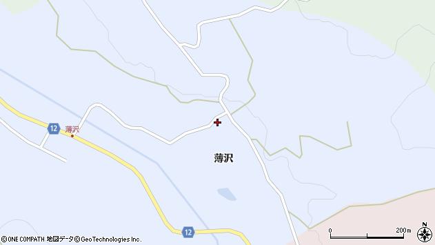 山形県上山市高野90周辺の地図