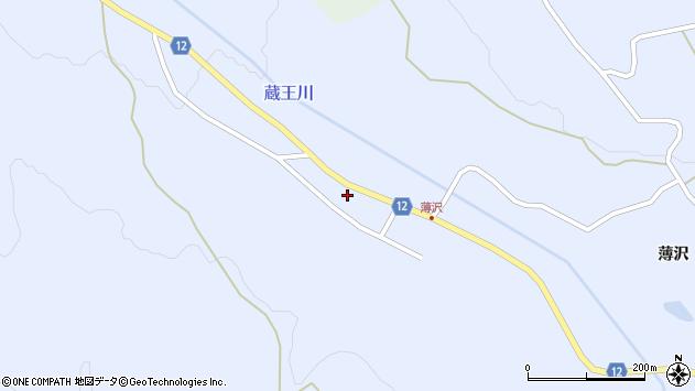 山形県上山市高野上河原117周辺の地図
