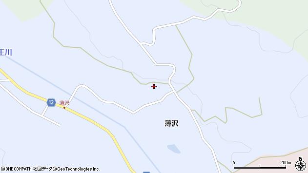 山形県上山市高野205周辺の地図
