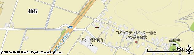 山形県上山市仙石50周辺の地図