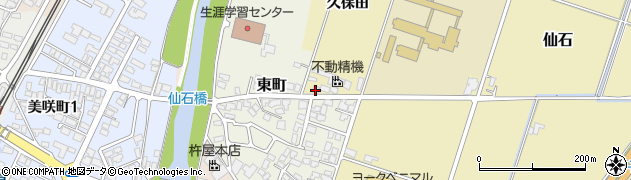 山形県上山市仙石久保田988周辺の地図