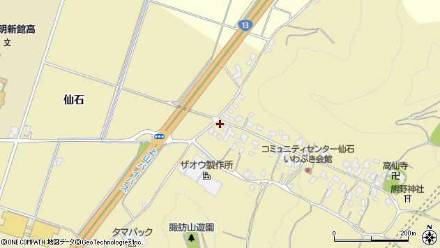 山形県上山市仙石49周辺の地図