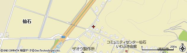 山形県上山市仙石47周辺の地図