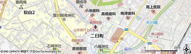 山形県上山市沢丁8周辺の地図