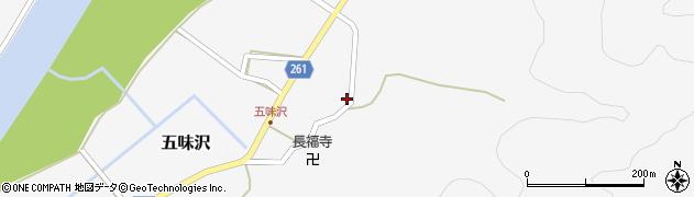 山形県西置賜郡小国町五味沢670周辺の地図