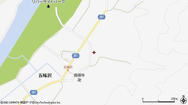 山形県西置賜郡小国町五味沢701周辺の地図