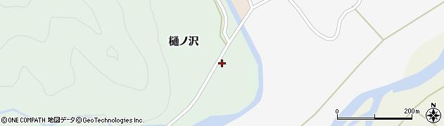 山形県西置賜郡小国町樋ノ沢47周辺の地図