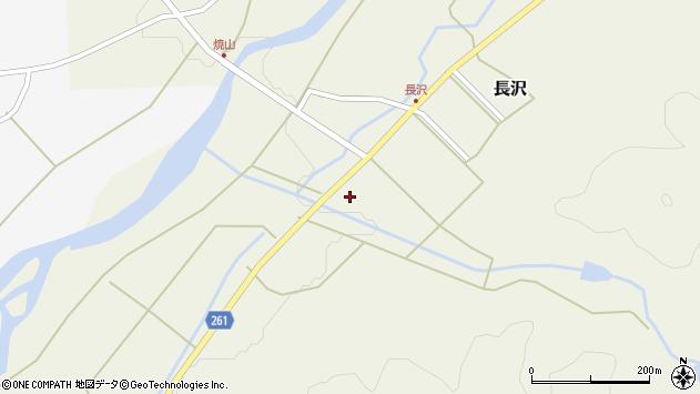 山形県西置賜郡小国町長沢539周辺の地図