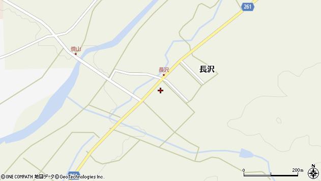 山形県西置賜郡小国町長沢816周辺の地図