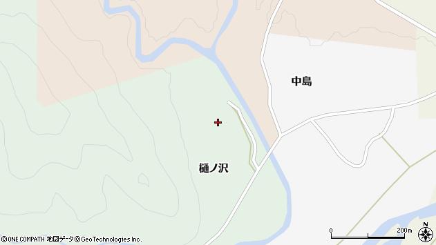 山形県西置賜郡小国町樋ノ沢65周辺の地図