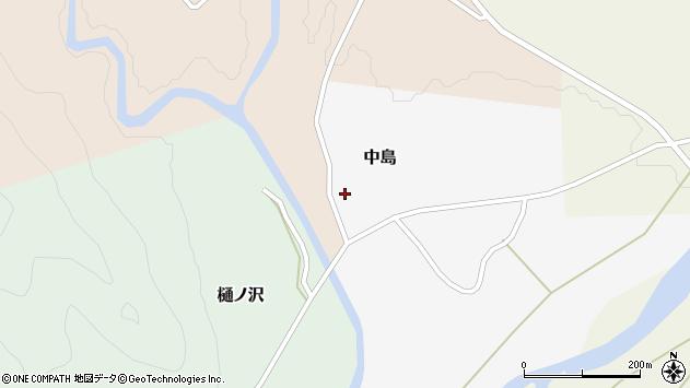山形県西置賜郡小国町中島54周辺の地図