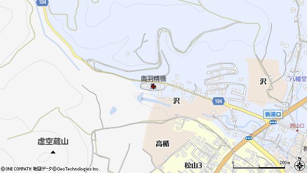 山形県上山市鶴脛町元練兵場周辺の地図