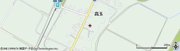 山形県西置賜郡白鷹町高玉886周辺の地図