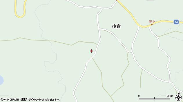 山形県上山市小倉737周辺の地図