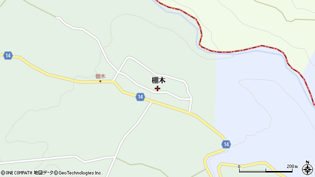 山形県上山市小倉棚木1165周辺の地図