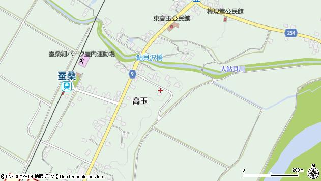 山形県西置賜郡白鷹町高玉907周辺の地図