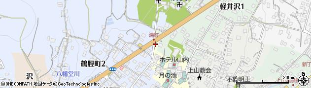 山形県上山市湯町4周辺の地図