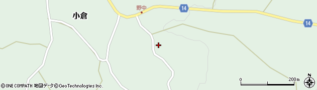 山形県上山市小倉207周辺の地図