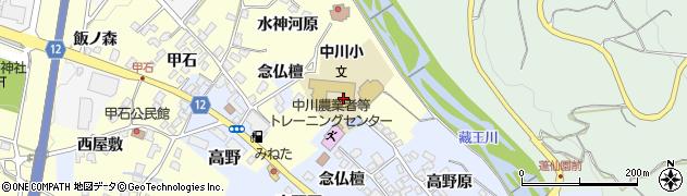 山形県上山市金谷水神河原1189周辺の地図