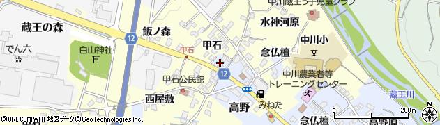 山形県上山市高野念仏檀28周辺の地図