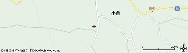 山形県上山市小倉21周辺の地図