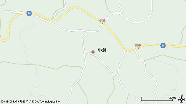 山形県上山市小倉30周辺の地図