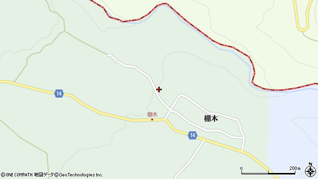 山形県上山市小倉1148周辺の地図