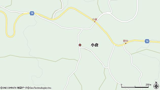 山形県上山市小倉18周辺の地図