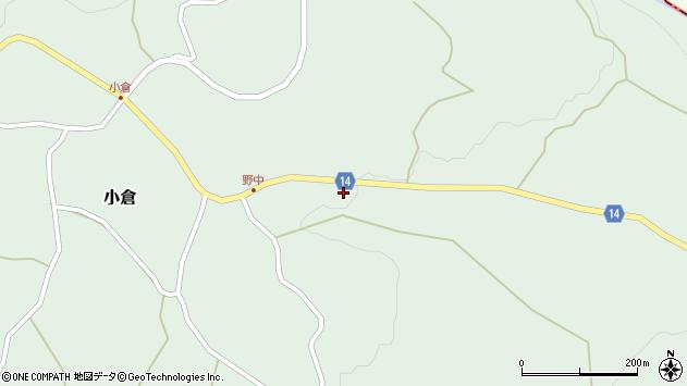 山形県上山市小倉57周辺の地図