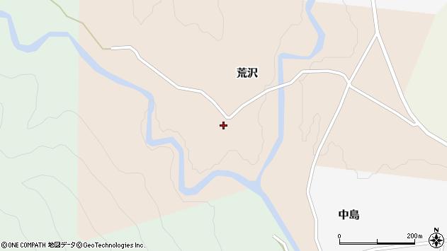 山形県西置賜郡小国町荒沢198周辺の地図