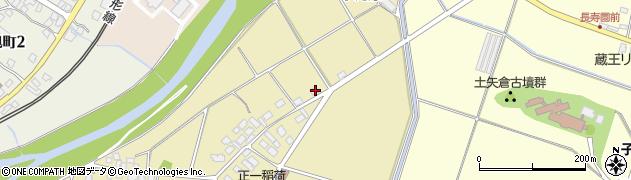 山形県上山市泉川屋敷下194周辺の地図