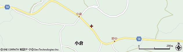 山形県上山市小倉74周辺の地図