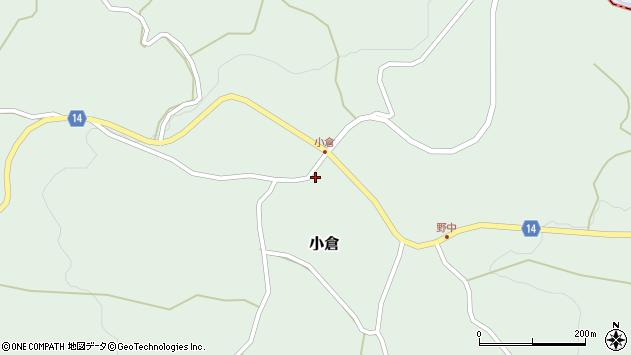 山形県上山市小倉36周辺の地図