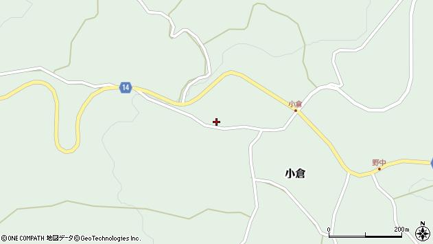 山形県上山市小倉568周辺の地図