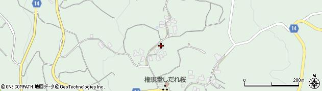 山形県上山市権現堂92周辺の地図