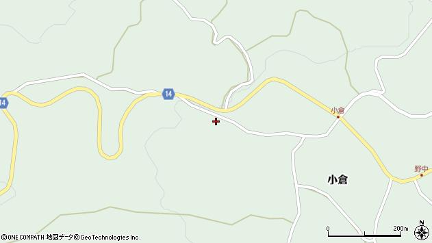 山形県上山市小倉642周辺の地図