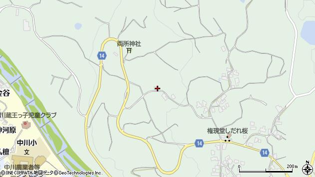 山形県上山市権現堂北田226周辺の地図