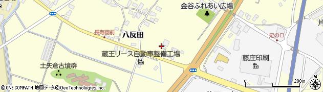 山形県上山市金谷飯ノ森404周辺の地図
