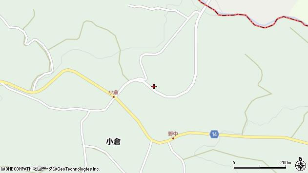 山形県上山市小倉533周辺の地図