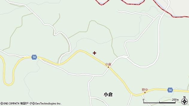 山形県上山市小倉83周辺の地図