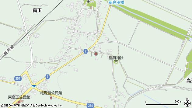 山形県西置賜郡白鷹町高玉1051周辺の地図