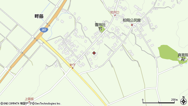 山形県西置賜郡白鷹町畔藤2393周辺の地図