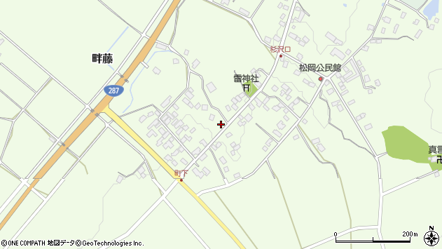 山形県西置賜郡白鷹町畔藤2397周辺の地図