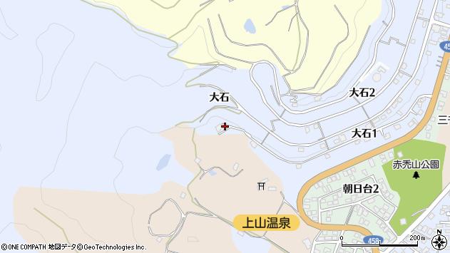 山形県上山市鶴脛町大石949周辺の地図