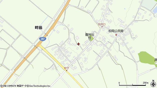 山形県西置賜郡白鷹町畔藤2517周辺の地図
