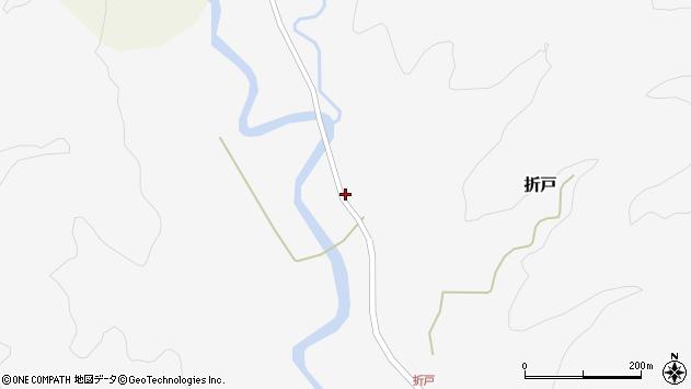 山形県西置賜郡小国町折戸111周辺の地図